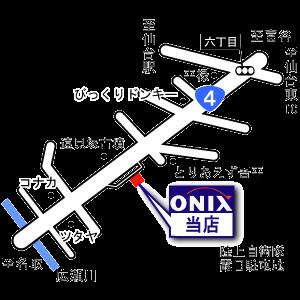 オニキス仙台中央マップ